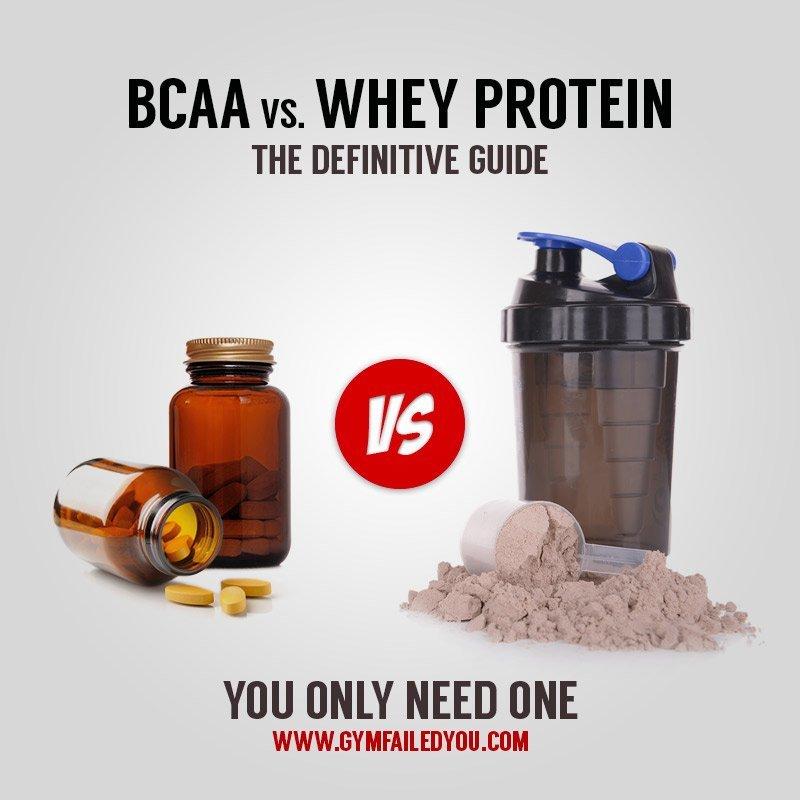 BCAA vs Whey Protein