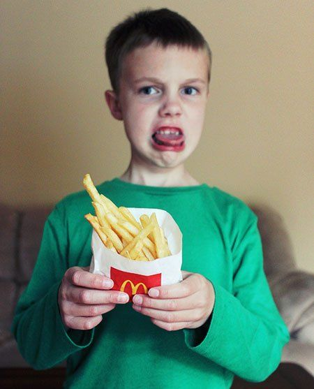 McDonalds bad ingredients for kids