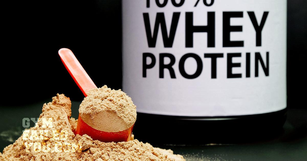 Suplementos de proteína de suero en polvo