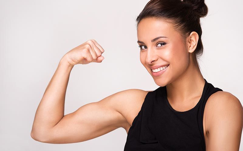 Protein Powder Builds Muscle