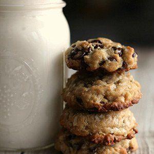 No Bake Keto Chocolate Chip Cookies
