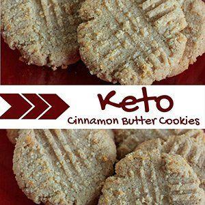 Cinnamon Butter Keto Cookies