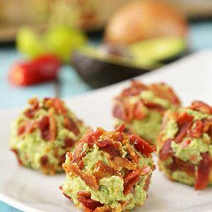 Bacon & Guacamole Keto Fat Bombs