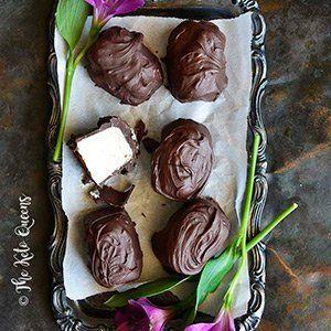 Vanilla Buttercream Chocolate Covered Keto Fat Bomb