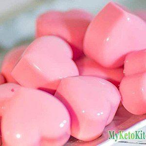 Raspberry Cream Keto Fat Bombs