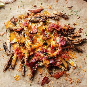 Mushroom Fries Keto Movie Snacks