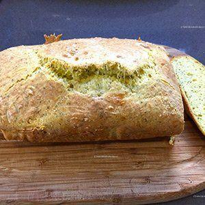 Cheesy Savory Keto Snack Herb Bread