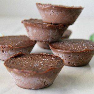 Keto Snacks Sweet Chocolate Pumpkin Fudge