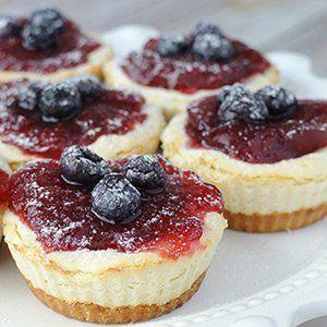 Easy Keto Desserts Recipe Cheesecake Tarts