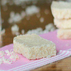 Keto Sweet Snacks Coconut Bars