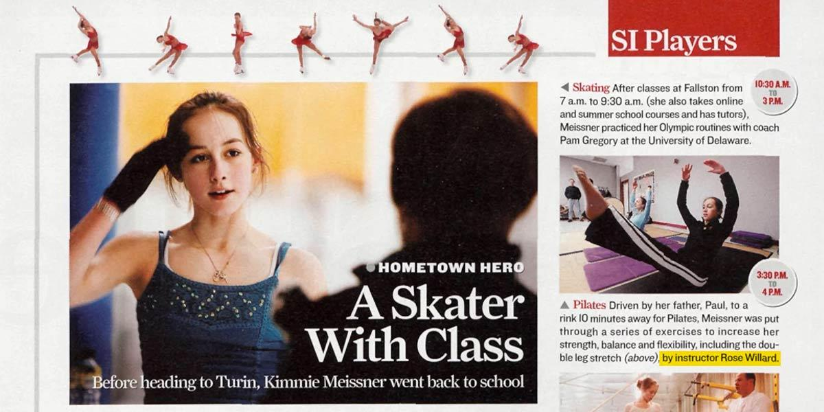 Paradigm Fitness in Sports Illustrated