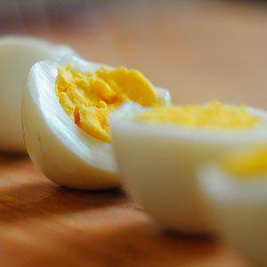 Easy Keto Snack Hard Boiled Eggs