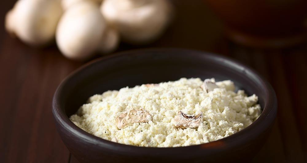 Powdered Mushroom Supplement