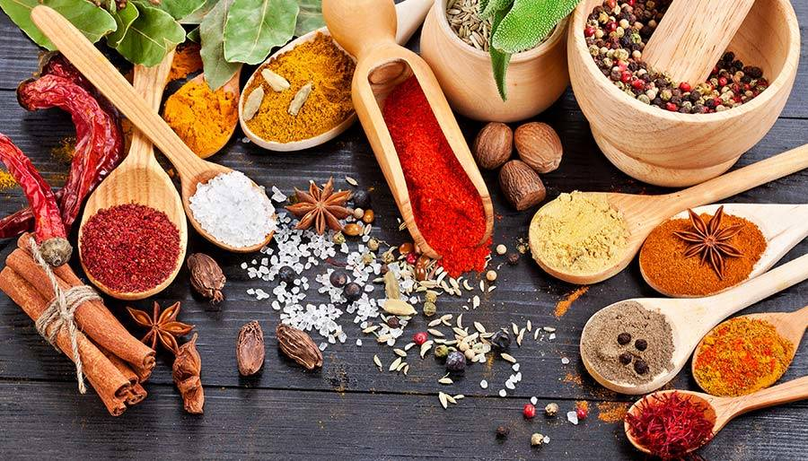 Spices for immune system