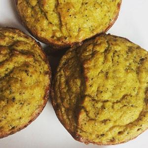 Savory Keto Veggie Muffin