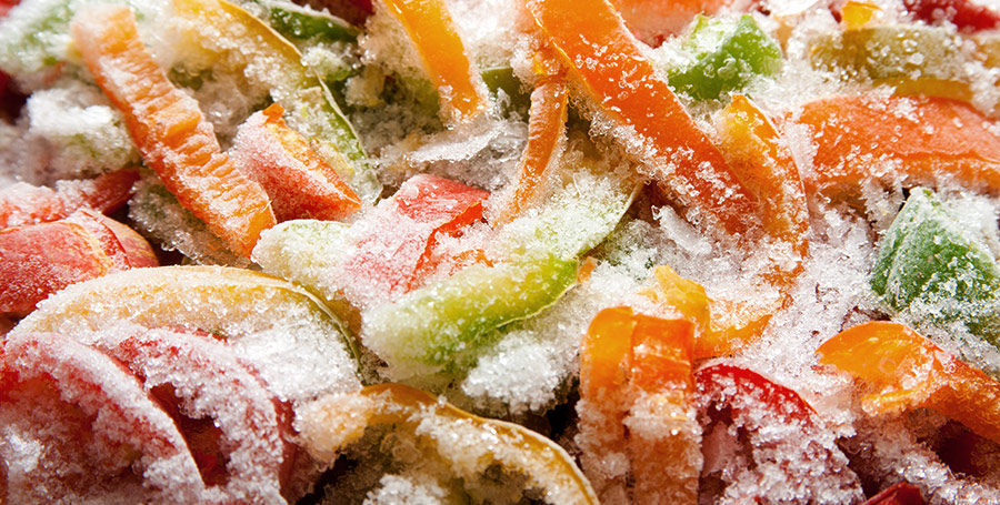 Use Frozen Vegetables Shopping on a Budget